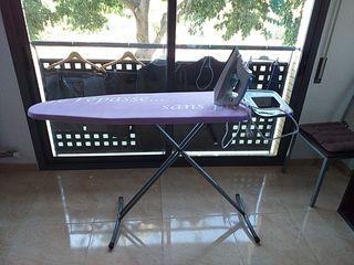 tabla de planchar y plancha