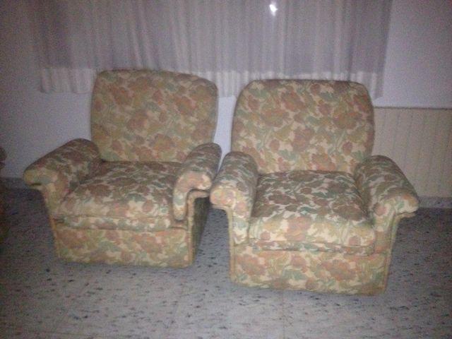 tresillo, dos sillones y sofa tres plazas