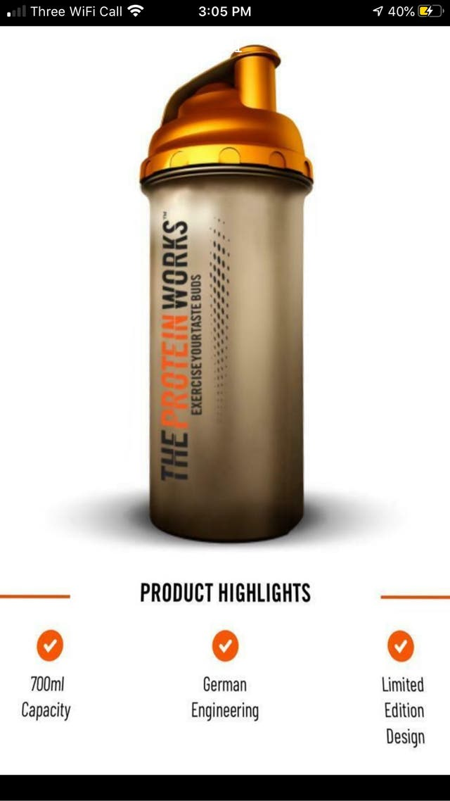 New Limited Edition Tmw shaker