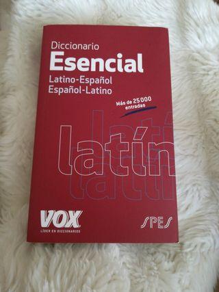 diccionario latino-español español-latino vox uso