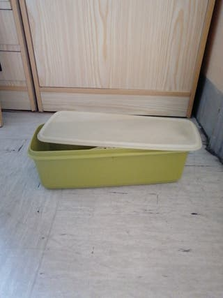 Tupperware caja de pan o otro cosa con tapa