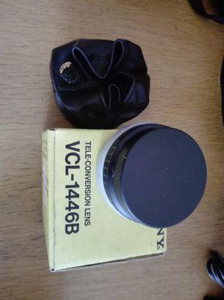 SONY VCL-1446B lente conversión gran angular