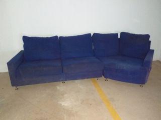 Sofa esquinero Azul marino SE PUEDE NEGOCIAR