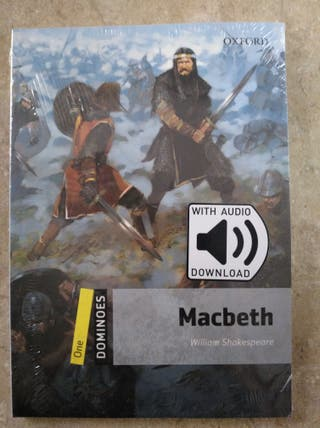 Libro Macbeth inglés con audio .