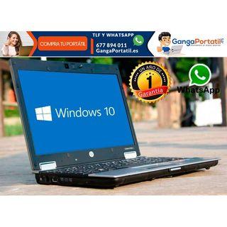 Portátil HP EliteBook 2540p, I5 / Web Cam / SSD /