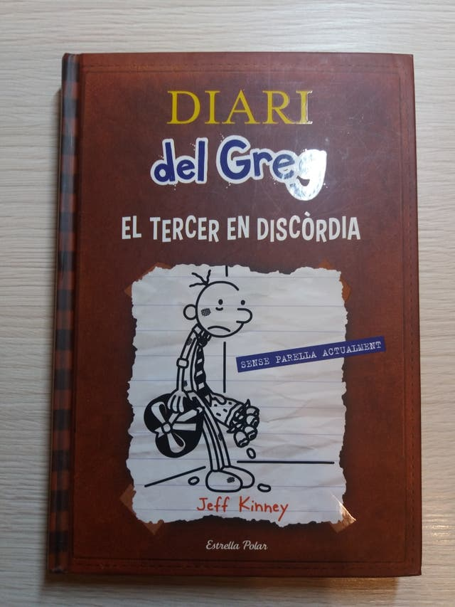 EL DIARI DEL GREG EL TERCER EN DISCÒRDIA