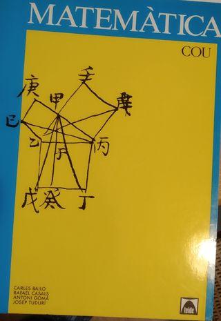Matemáticas de COU. I y II.