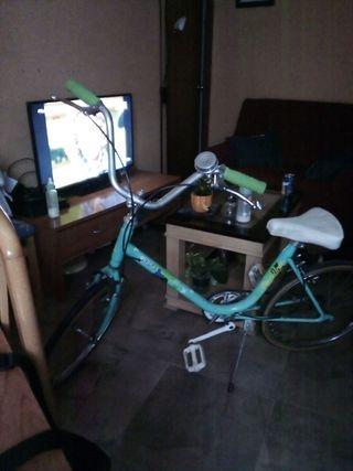 bicicleta Orbea papillon antigua
