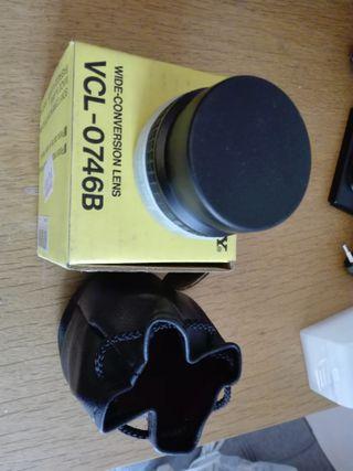 SONY VCL-0746B lente conversión gran angular