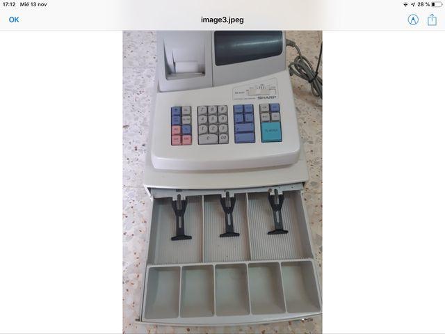 Caja registradora Sharp Xe A101