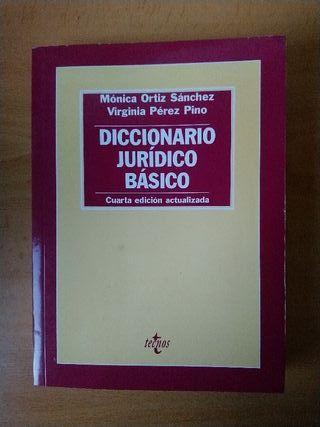 Diccionario jurídico básico.