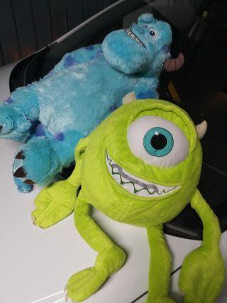Muñecos de peluche Monstruos SA