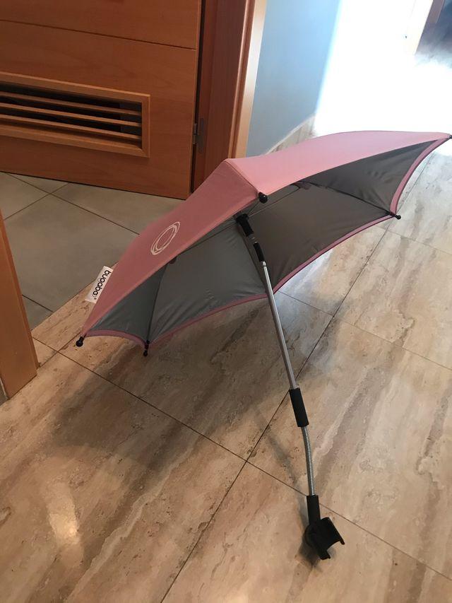 Sombrilla bugaboo rosa pastel