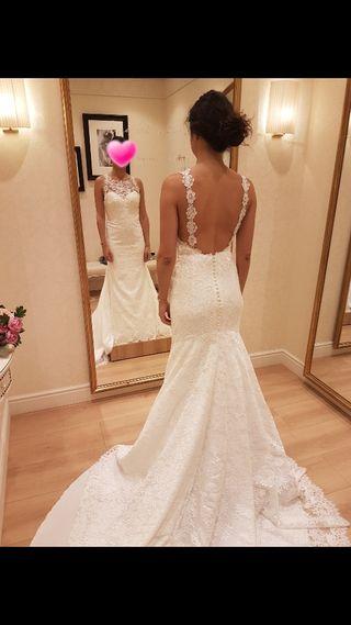 Vestido novia-Pronovias 2019
