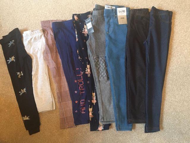 Girls 5-6 Yr old leggings