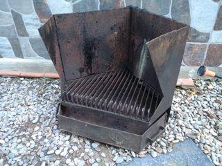 chimenea hierro