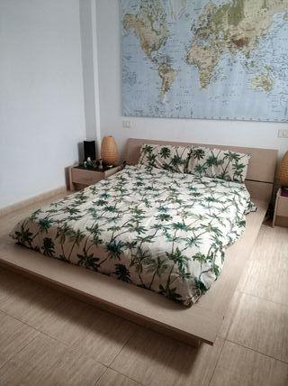 Dormitorio estilo futón Japónes