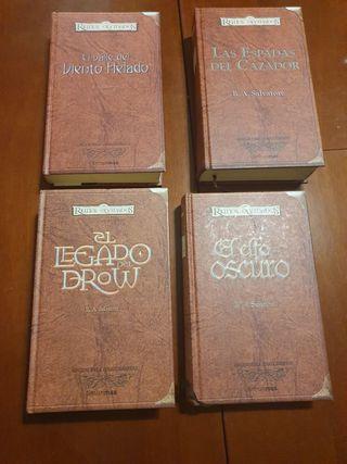 Colección novelas Reinos Olvidados