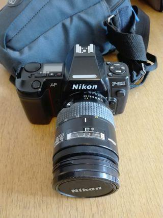NIKON F-801 + objetivo 28-85mm 1:4,5-4,5