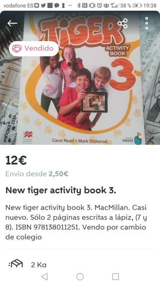 new tiger 3. activity book
