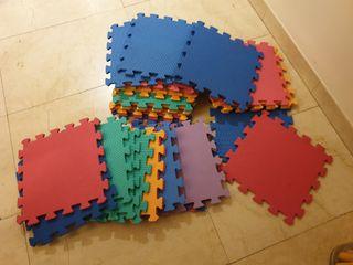 Alfombra puzzle 30 piezas