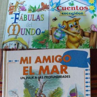 Lote de 3 Libros y cuentos infantiles