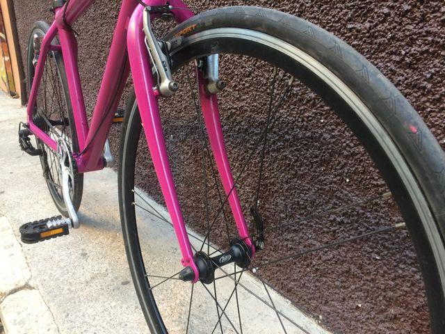 Bicicleta Híbrida aluminio 700c
