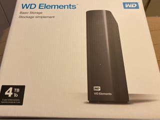 Disco duro externo WD Elements 4Tb