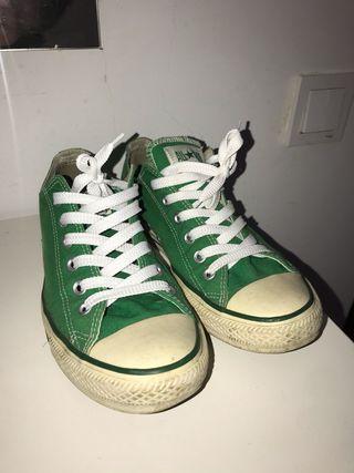 Converse verdes.