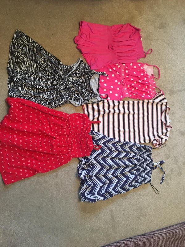 Girls 7-8 Yr old dresses and playsuits