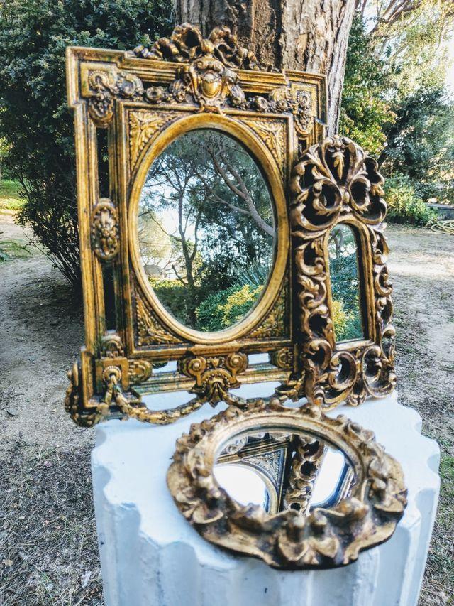 Lote de espejos Barrocos Clásicos