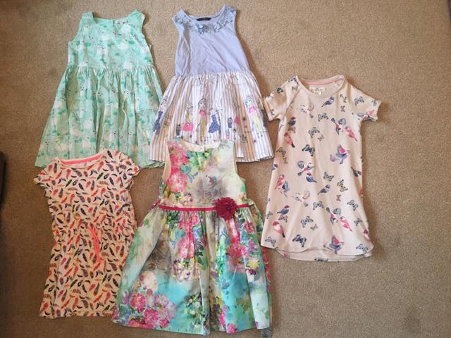 Girls 5-6 Yr old dresses