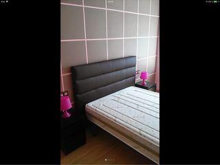 Cama 135 dos mesillas sinfoníer dormitorio