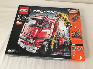 CAMIÓN GRÚA LEGO TECHNIC 8258 PRECINTADO