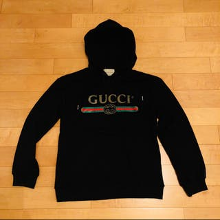 Gucci Hoody / Hoodie Sweat Black Small
