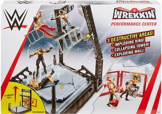 Ring Wrekkin +luchador The Miz,(Mattel)