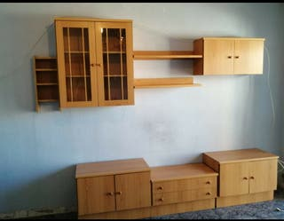 Muebles pared salon