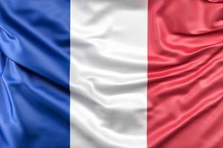 Bandera de Francia de tela 150cm x 90cm