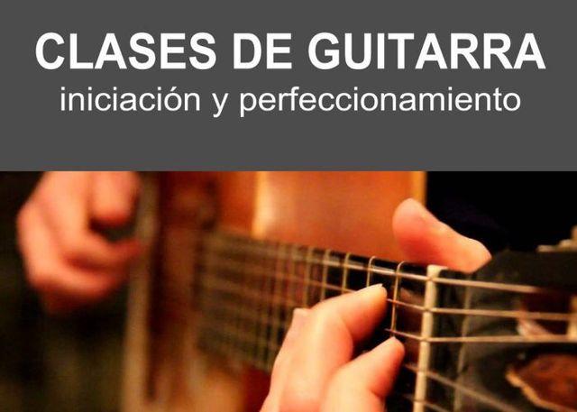 CLASES DE GUITARRA INICIACIÓN