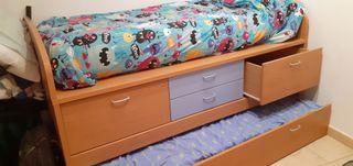 habitació juvenil llit niu, habitacion juvenil