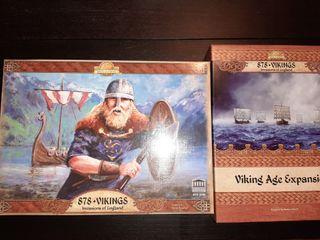 878 Vikings + expansión