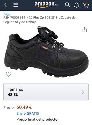 Zapatos de seguridad y trabajo