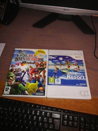 Super Smashbros + Wii Sports Resort (Wii)