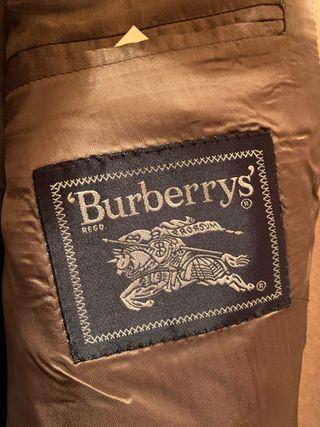Abrigos cashmere 100% Burberry's