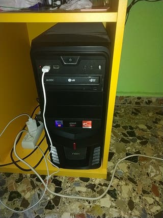 vendo pc gaming con componentes AMD