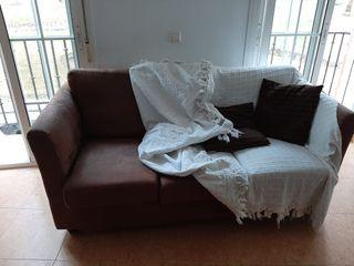 Sofá tres plaza ,sillón