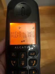 TELÉFONO FIJO INALÁMBRICO ALCATEL SIGMA