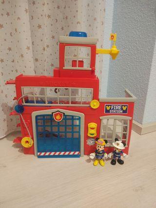 Estación de Bomberos Mickey Mouse