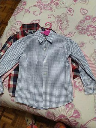 camisa niño talla 4/5 años