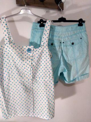 pantalon y blusa XXL